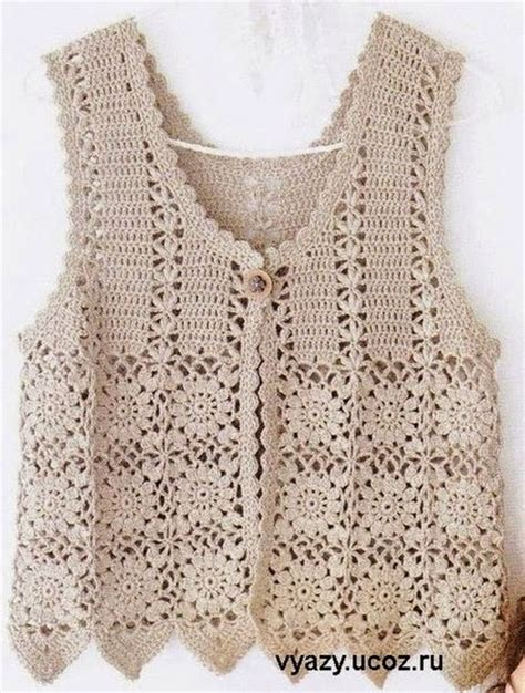 free pattern vest crochet crochet patterns to try free crochet charts and