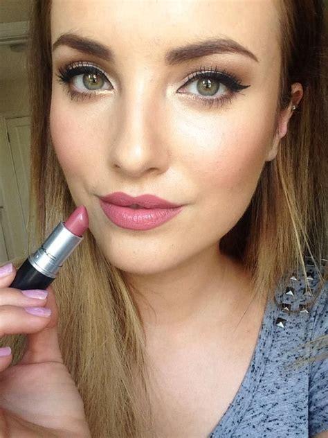 braut lippenstift mac m a c soar lip liner and brave lipstick make