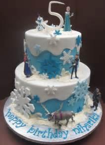frozen cake simple decor byrdie custom cakes