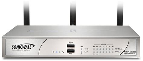 dell sonicwall visio sonicwall nsa 220 wireless n network security appliance