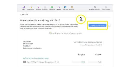 Rechnung Schweiz Umsatzsteuervoranmeldung rechnungsprogramm wie mache ich meine