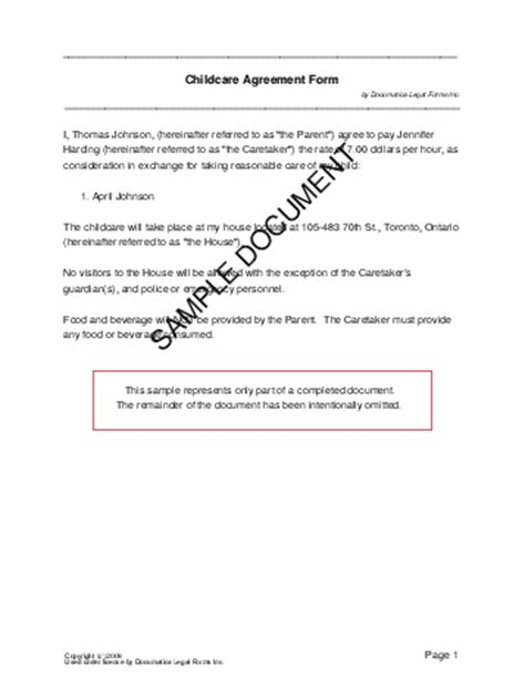 technical support agreement template computer support computer support contract template