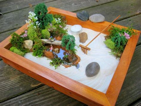 mini japanese garden miniature japanese zen garden mini gardens pinterest