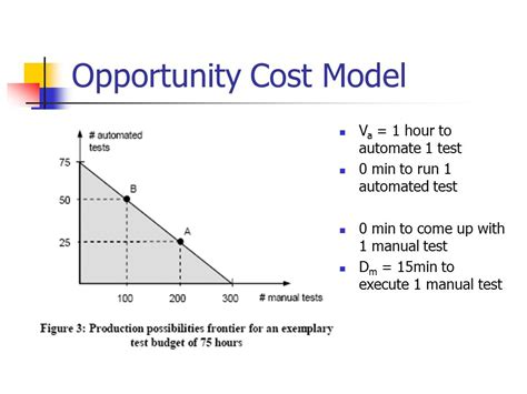 Opportunity Cost Economics Essay by Economic Perspectives In Test Automation Balancing Automated And Manual Testing With