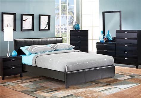 gardenia queen black pc upholstered bedroom bedroom sets colors