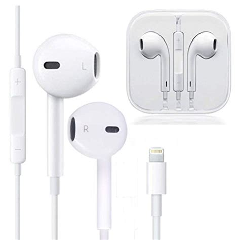 Iphone Xr Headphones by Earphones Microphone Earbuds Stereo Headphones Noise Isolating Headset Made Compatible With