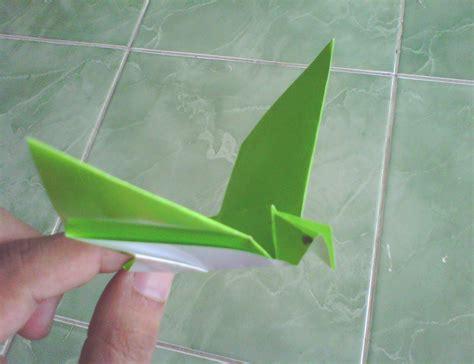 membuat origami burung yang mudah membuat burung dari kertas origami asyiknya berkreasi