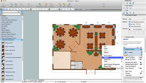 restaurant table layout software cafe and restaurant floor plans building drawing