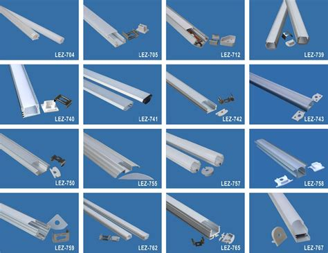 aluminium extrusions for led lighting new style surface mounted led square aluminum profile for