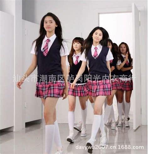 Korean Student Costume Setelan Anak 2018 snsd korean students loaded with money stage performance clothing cheerleading student