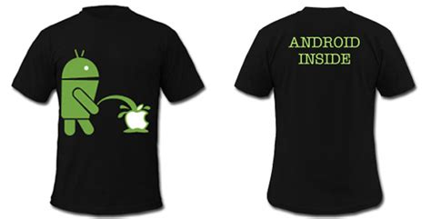 T Shirt Android User fsm board andromod t shirt has android on apple