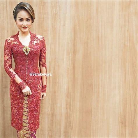 design baju indonesia verakebaya s photo on instagram wedding pinterest