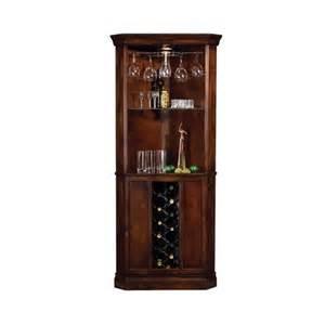 corner wine spirits cabinet