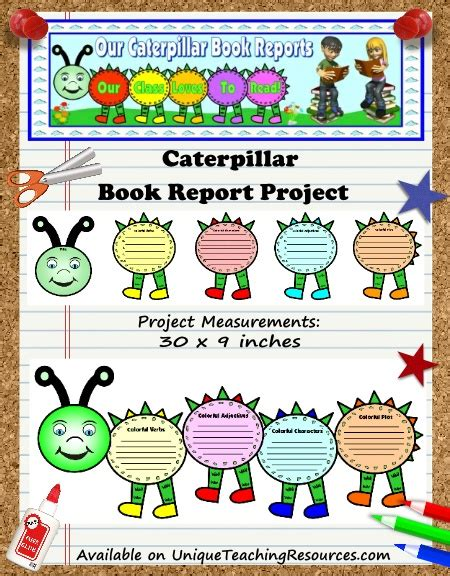 choose and book reports choose and book reports caterpillar book report project