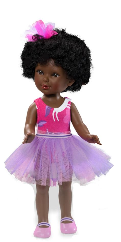 black doll afro black ballerina doll with afro hair