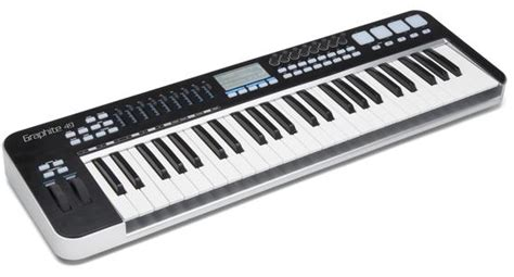 Keyboard Carbon 49 new midi keyboard controllers alesis qx25 and 61 and samson carbon and graphite 49 dolphin