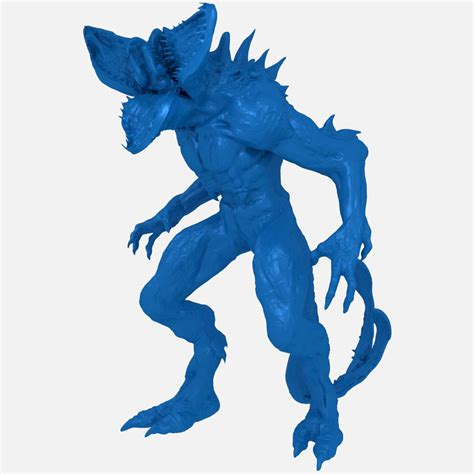 Demogorgon 3d Model demogorgon creature print ready 3d model