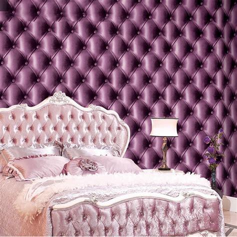 purple wallpaper bedroom super 3d leather pvc waterproof purple wallpaper for 13019 | super 3d leather pvc waterproof purple wallpaper for bedroom wall decorative wallpapers
