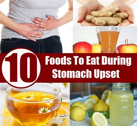 what to feed with upset stomach top 10 foods to eat during stomach upset diy health remedy