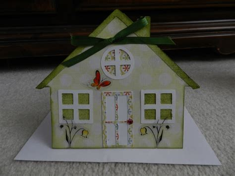 new home cards to make new home card i made this shape card using cricut