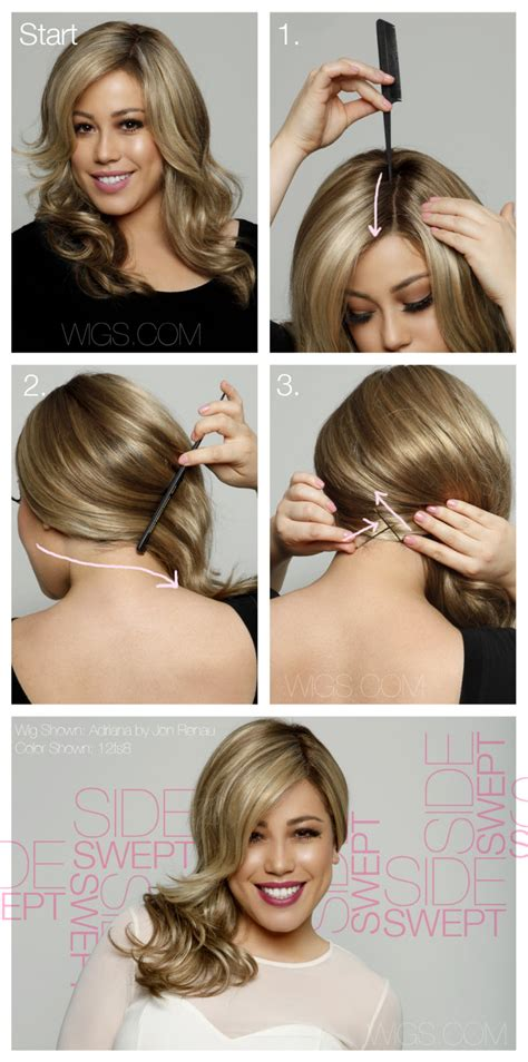 hairstyles to the side tutorial 15 easy side hairstyles you can try to do