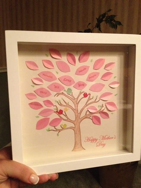 diy mothers day crafts tree for my s day diy craft peanutproject