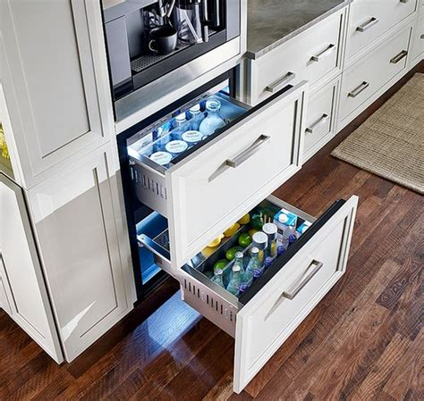 Fridge Drawers by Undercounter Refrigerators The New Must In Modern