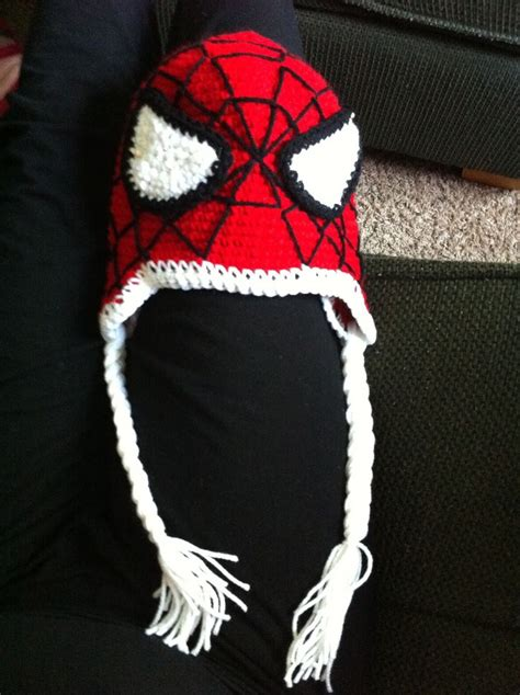 crochet pattern for spiderman eyes spiderman knitted blanket pattern free close up