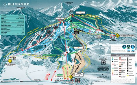 colorado ski resorts map colorado ski map my
