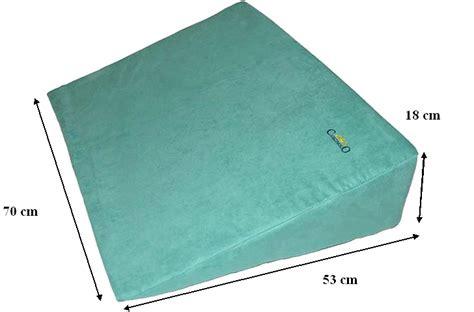 cuscino triangolare cuneo triangolare grande cuscini per la schiena e le gambe