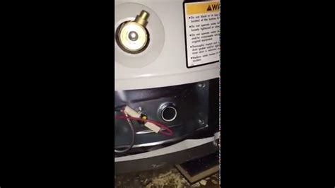 how to turn on pilot light how to turn on your water heater pilot light bradford