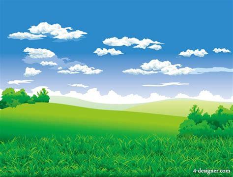 beautiful picture 4 designer beautiful countryside vector
