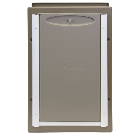 petsafe doors petsafe wall entry aluminum pet door large