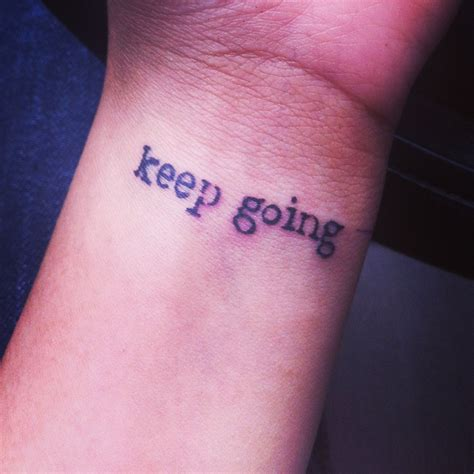 keep going ink tattoos