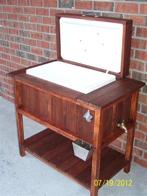 backyard cooler 1000 ideas about chest cooler on wooden