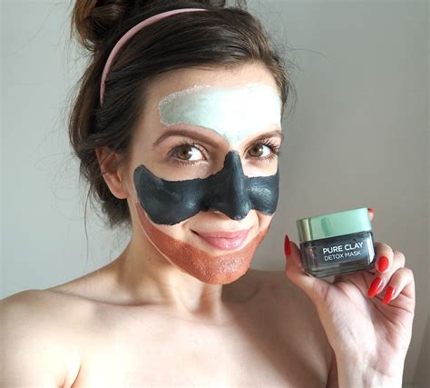 L Oreal Detox Clay Mask Review by L Oreal Clay Masks Review Vickisbeauty