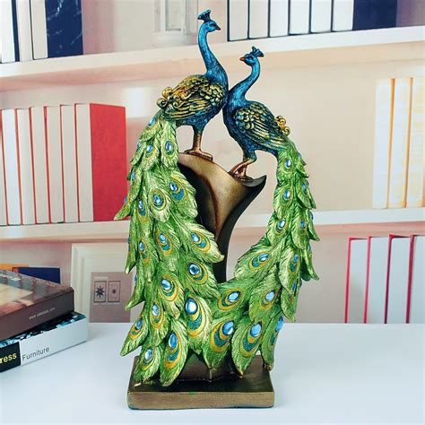 decorative sculptures for the home home decor beautiful peacock home decor peacock wall art