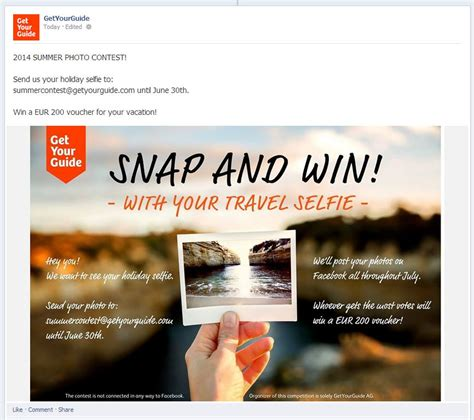 How To Do A Social Media Giveaway - 5 inventive selfie contest ideas for social media marketing with real life exles