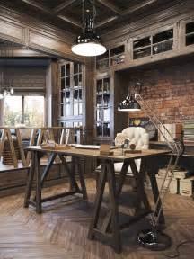 un bureau style industriel frenchy fancy