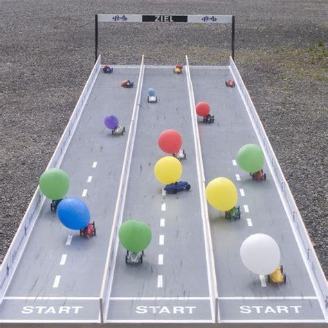Balon Roket 1 balloon car race track summer c cars