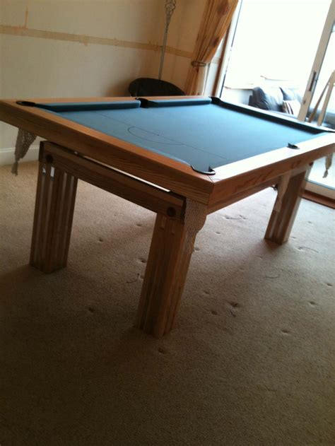 pool dining table with chrome inserts snooker pool tables