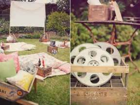 vintage backyard party 25 diy ideas for an outdoor movie night