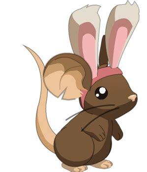 imagenes de transformice kawaii archivo rat 243 n con orejas de conejo png