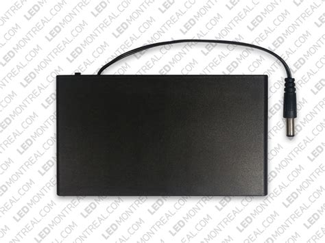 12v 3a Battery Pack To Power Led Strips Led Montreal Canada Led Light Strips With Battery Pack