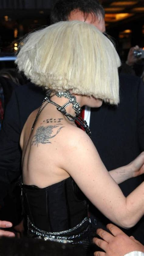 lady gaga tattoo designs celebrities tattoos