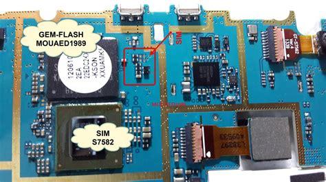 Connector Sim Konektor Sim Card Mmc Samsung I9500 samsung s7582 insert sim card problem jumper ways solution