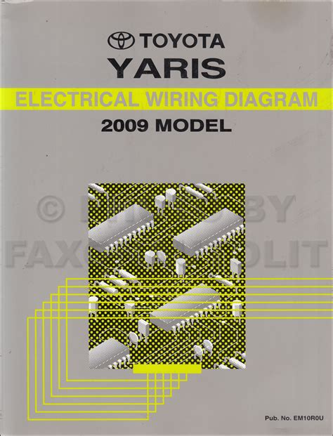 electrical wiring diagram toyota yaris wiring diagram