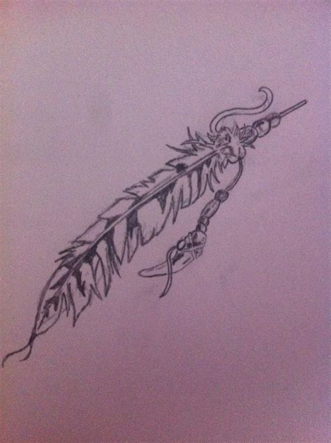 tribal feather tattoos ideas design