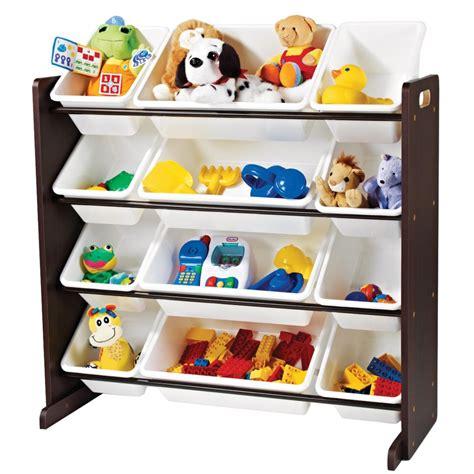 toy organizer tot tutors toy organizer espresso the home depot canada