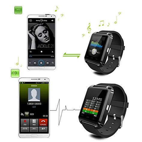 lemfo bluetooth smart wristwatch u8 uwatch fit for